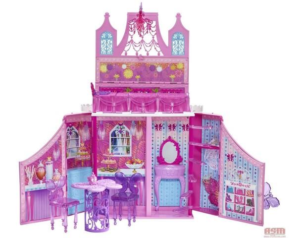 Casa Barbie Mariposa Y La Princesa De Hadas Modaremate Arreglar La Casa De  Barbie